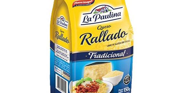 Queso Rallado La Paulina 150Gr