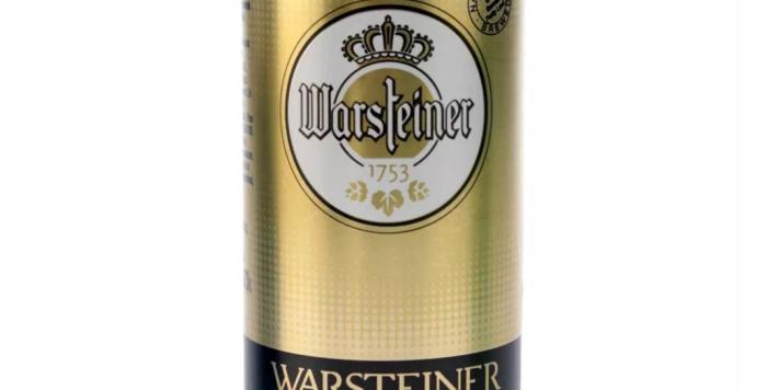 Warsteiner 473cc - Pack x 24un