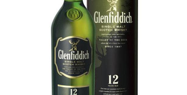 Glenfiddich 12 Años 750cc