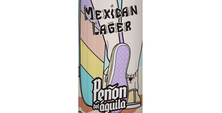 Peñon del Águila Mexican Lager Lata 473cc -