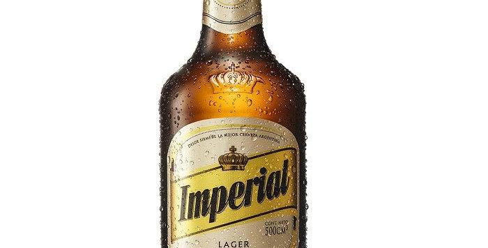 Imperial Lager 500cc - Caja x 12un