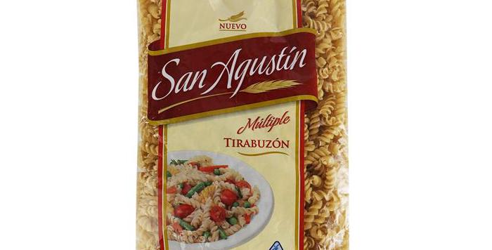 Fideos San Agustin Tirabuzón 500Gr