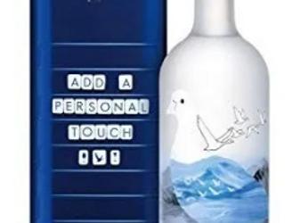 VoGrey Goose 1L + Estuche + Letras Imantadas