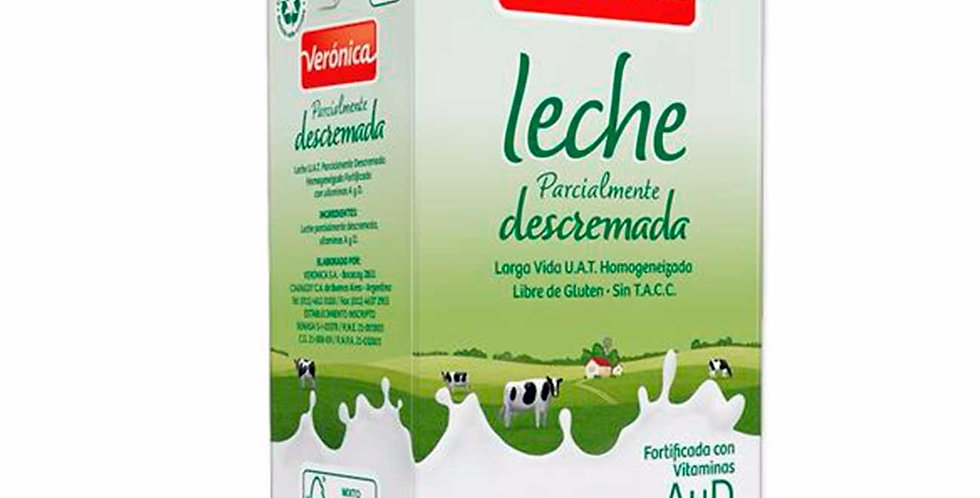 Leche Larga Vida Descremada Veronica/Ilolay 1L