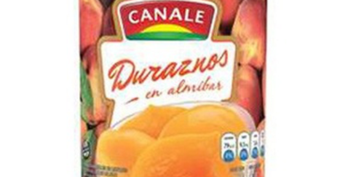 Duraznos en Almíbar Canale 820Gr