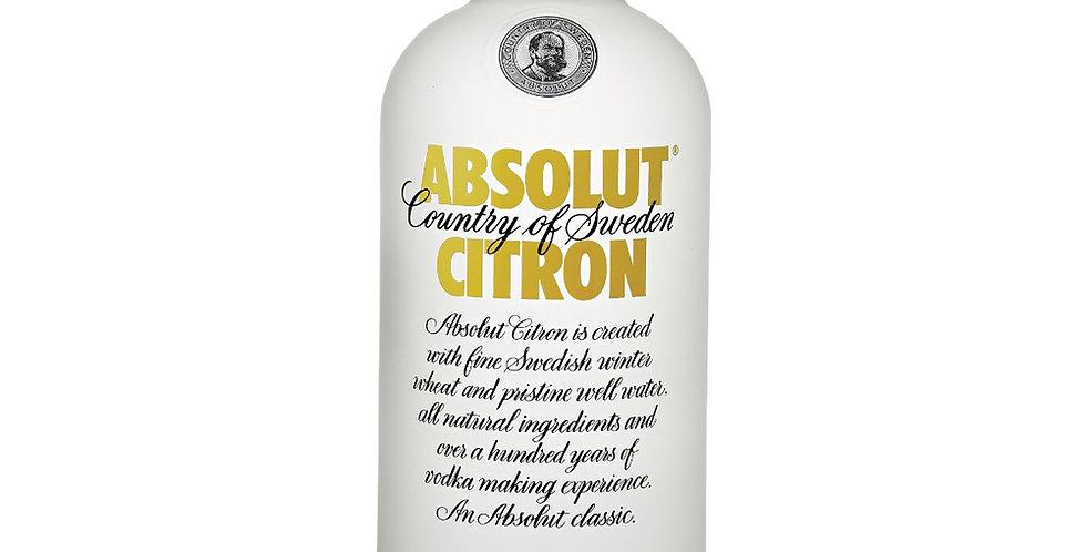 Absolut Citron 750cc