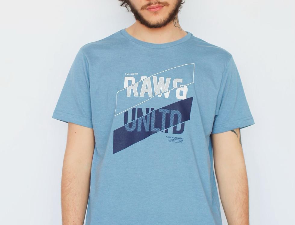 RAW & UNLTD REG TEE