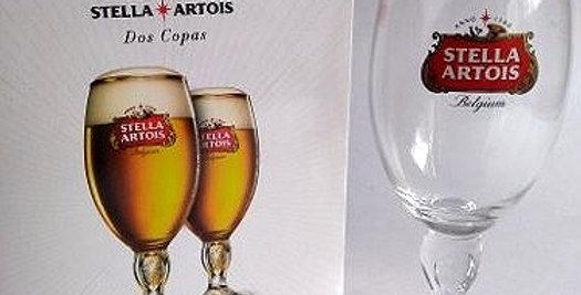 Estuche con 2 Copas Stella Artois 330cc