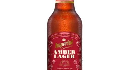 Imperial Amber Lager Retornable 1L - Cajón x 12un
