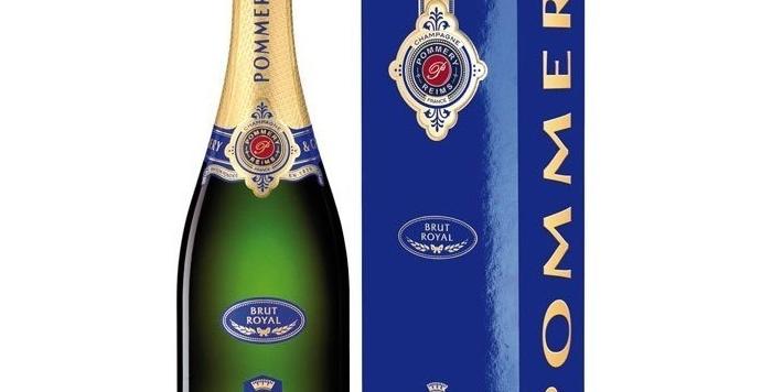 Champagne Pommery Brut Royal 750cc + Estuche