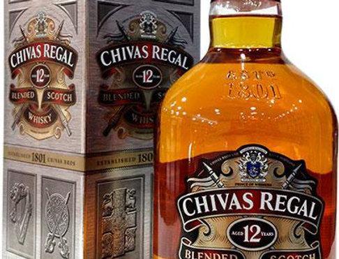 Chivas Regal 12 Años 1L + Estuche