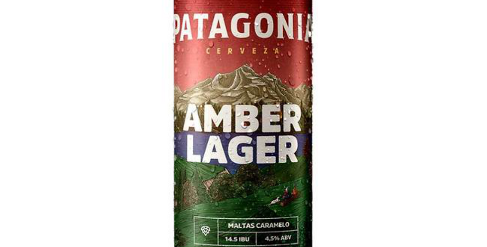 Patagonia Amber Lager 473cc - Pack x 24un
