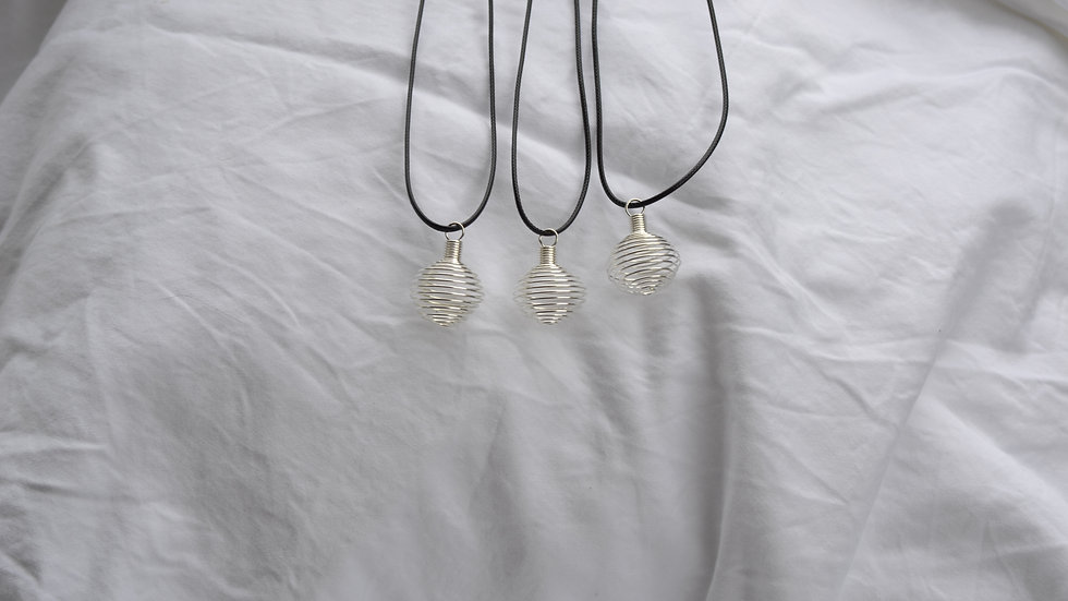 Crystal Holder Necklace