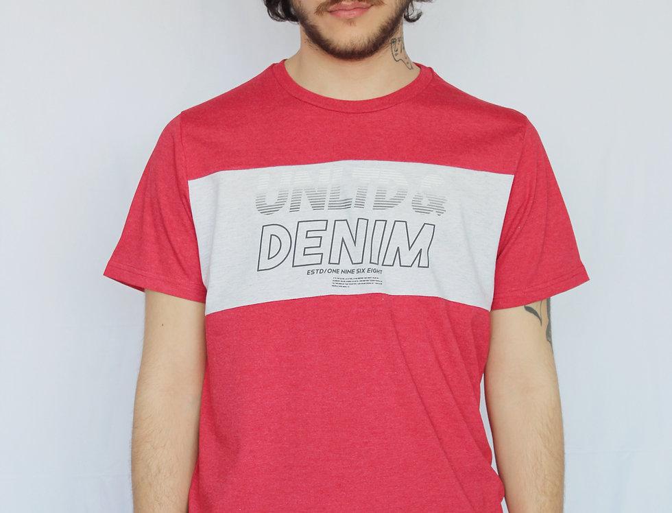 UNLTD & DENIM REG TEE
