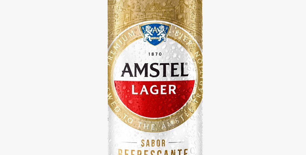 Amstel Lager 473cc - Pack x 24un