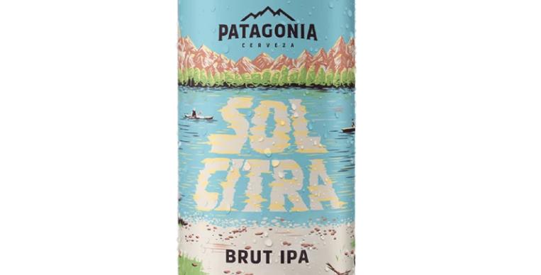 Patagonia Sol Citra Brut Ipa Lata 473cc