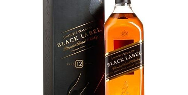Johnnie Walker Black Label 750cc con Estuche
