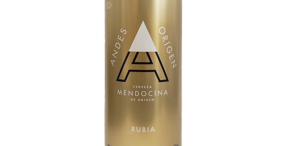 Andes Rubia 473cc - Pack x 24un
