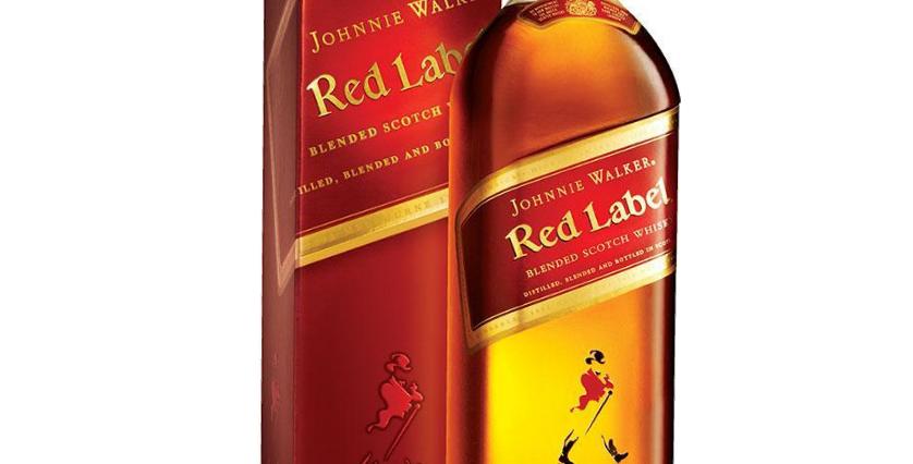 Johnnie Walker Red Label 1L con Estuche