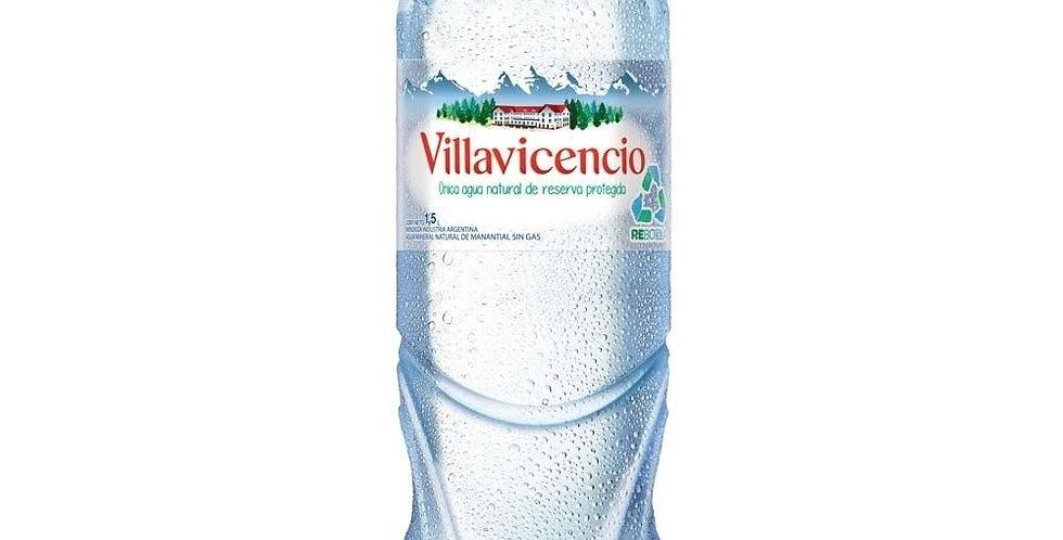 Villavicencio 1.5L Sin Gas - Pack x 6un