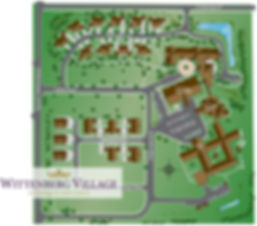 Campus map of Wittenberg Village