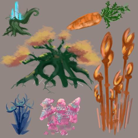 Fantasy Plants
