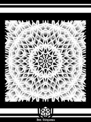 Print A3 - série n°2 - Psychadelic lines n°1