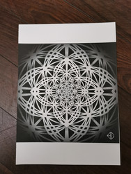 Print A3 - série n°4 - Hypnose n°1