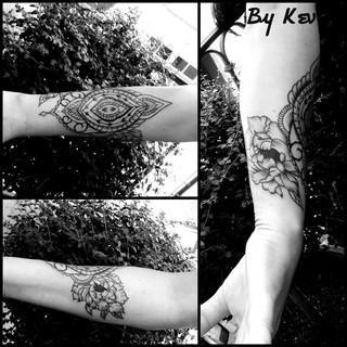 ours ornemental tatouage illustration Nantes Black project tattoo tatouage homme tatoueur français tattoo ornemtal femme