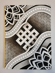 Toile Acrylique - Endless knot