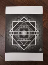 Print A3 - série n°3 - Geometry n°3