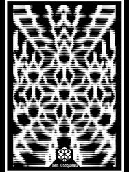 Print A3 - série n°2 - Psychadelic lines n°4
