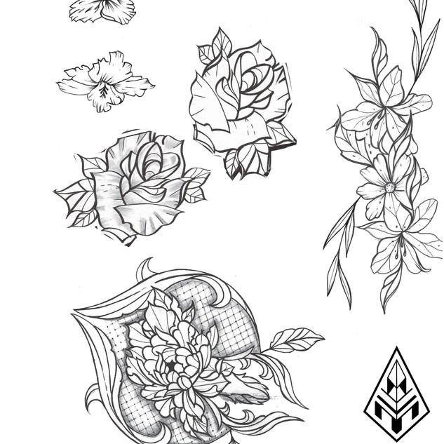 ours ornemental tatouage illustration Nantes Black project tattoo tatouage homme tatoueur français tattoo ornemtal femme rose des vents traits fin avant bras graphique tatoueur nantais tatoueur français