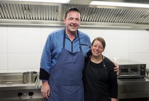 Unser Küchenteam: Tobias und Birgit Stemmler