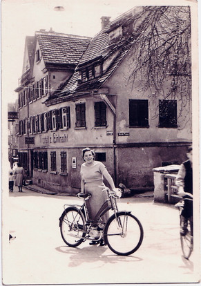 Kreszentia Neu, die ehemalige Seniorcheffin auf der mittleren Brücke.