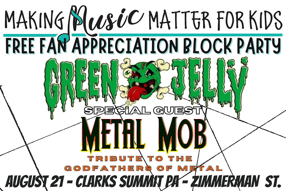 Making Music Matter For Kids, Fan Appreciation Day, Summer Time Events 2021