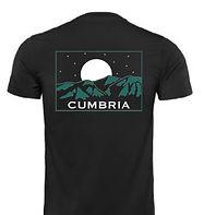 Cumbria T-shirt (Skiddaw Stars)