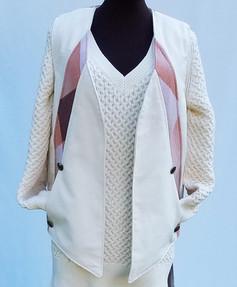 Sally West Vest No. DWN - 890 Front Peach