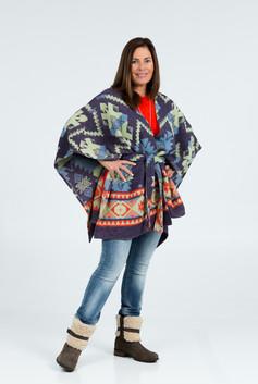 LR-0172 Maureen Beacon Blanket Capelette