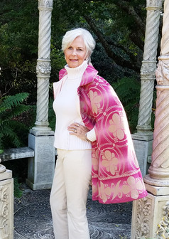 Pink Ombre Cape Sideview pic 1B