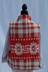 Aponi Crossover Nomad Red Plaid Back 3b.
