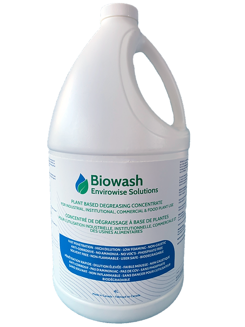 Biowash - plant based degreasing concentrate