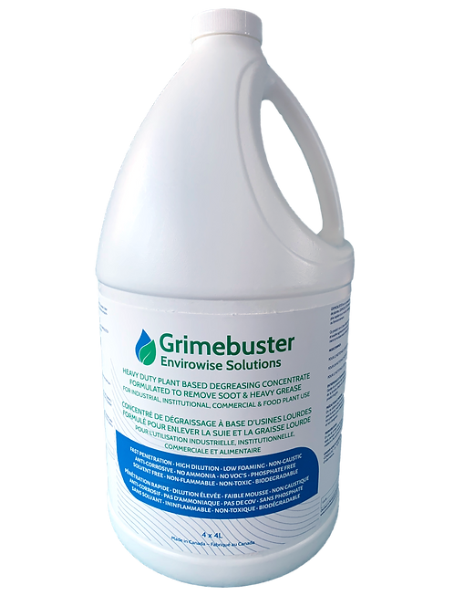 Grimebuster - Heavy duty plant based degreasing concentrate