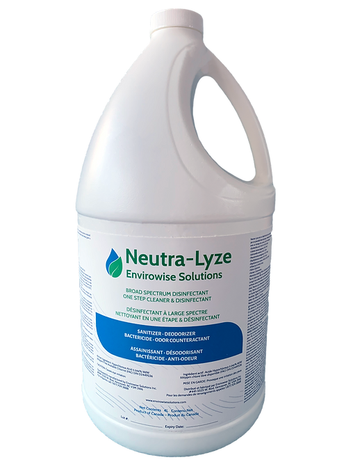 Neutra-Lyze Pure Hypochlorous - Broad Spectrum Disinfectant