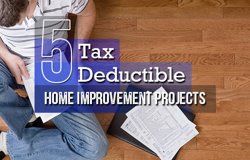 What Home Improvements are Tax-Deductible?