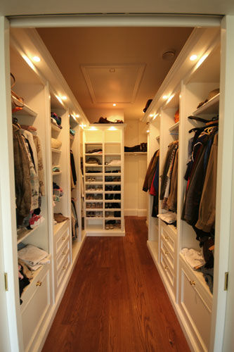 Walk in wardrobe by DP Bespoke Furniture