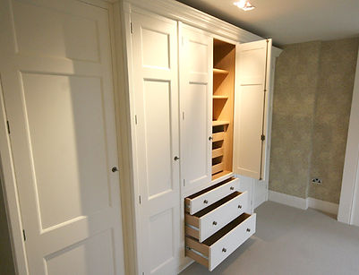 Fitted Wardrobe crafted by DP Bespoke Furniture makers