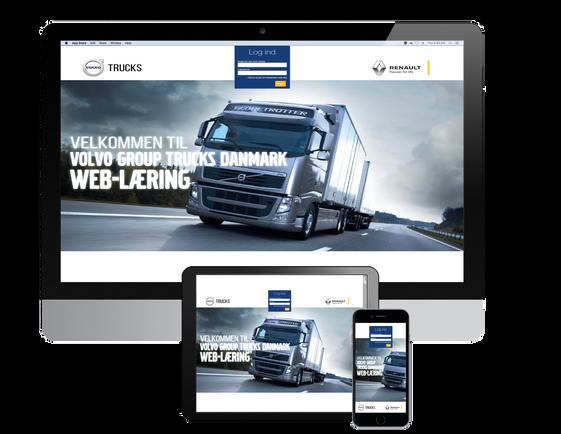 Volvo web-lærings portal