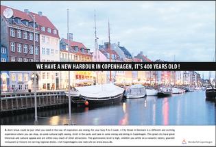 Wonderful Copenhagen kampagne/UK