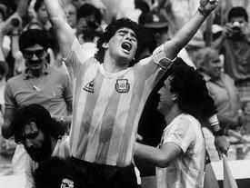 Un adiós a Diego Armando Maradona